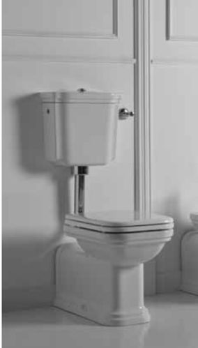 "Stand-WC ""Prolungato"" inkl. Nussbaum Softclose WC-Sitz"