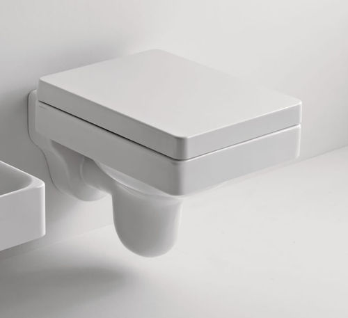 "Wand-WC Rechteckiges ""Cento"" inkl. Softclose WC-Sitz"